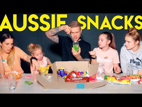 BRITISH PEOPLE TRYING AUSTRALIAN SNACKS 🇦🇺AND TALKING ABOUT THE NORRIS NUTS!