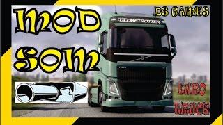 Mod de Som para todos os caminhões-Euro Truck Simulator 2