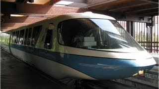 Walt Disney World Monorail Resort Magic Kingdom 2013 HD POV Ride through