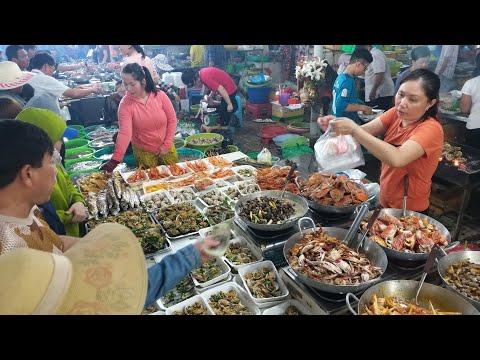 Chợ hải sản Cần Giờ dịp lễ 1/5: Hàu nướng 5k/con, Tôm hùm 250k/con nhưng Ghẹ kêu tới 650k/kg