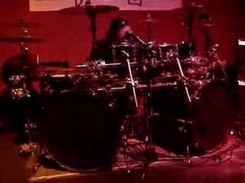 ANVIL White Rhino Robb Reiner drum solo L'Amour June 2,2007