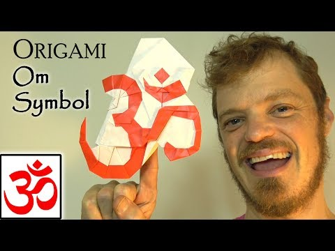 How to Make an Origami Om Symbol