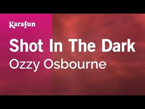 Karaoke Shot In The Dark - Ozzy Osbourne *