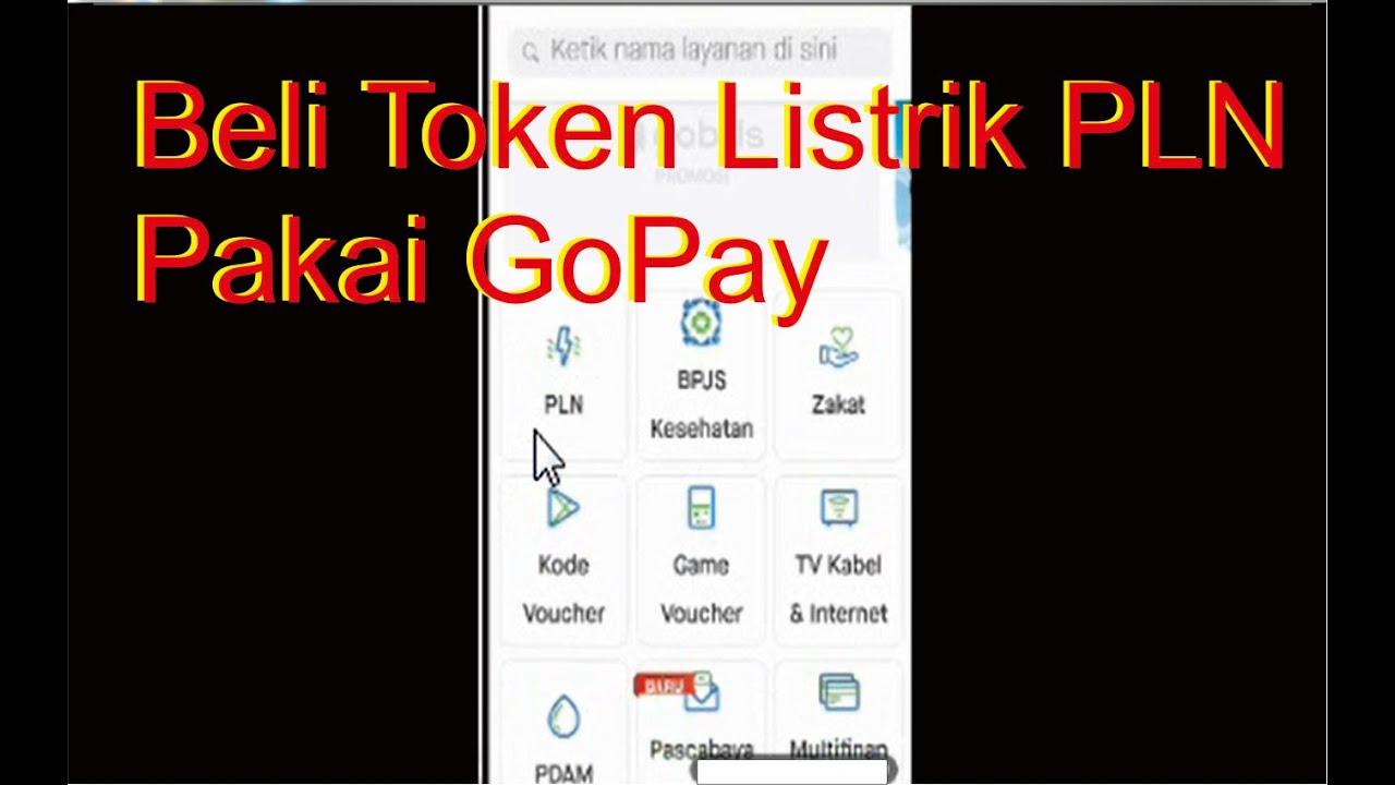 Cara Mudah Beli Token PLN/Pulsa Listrik Pakai GoPay ...