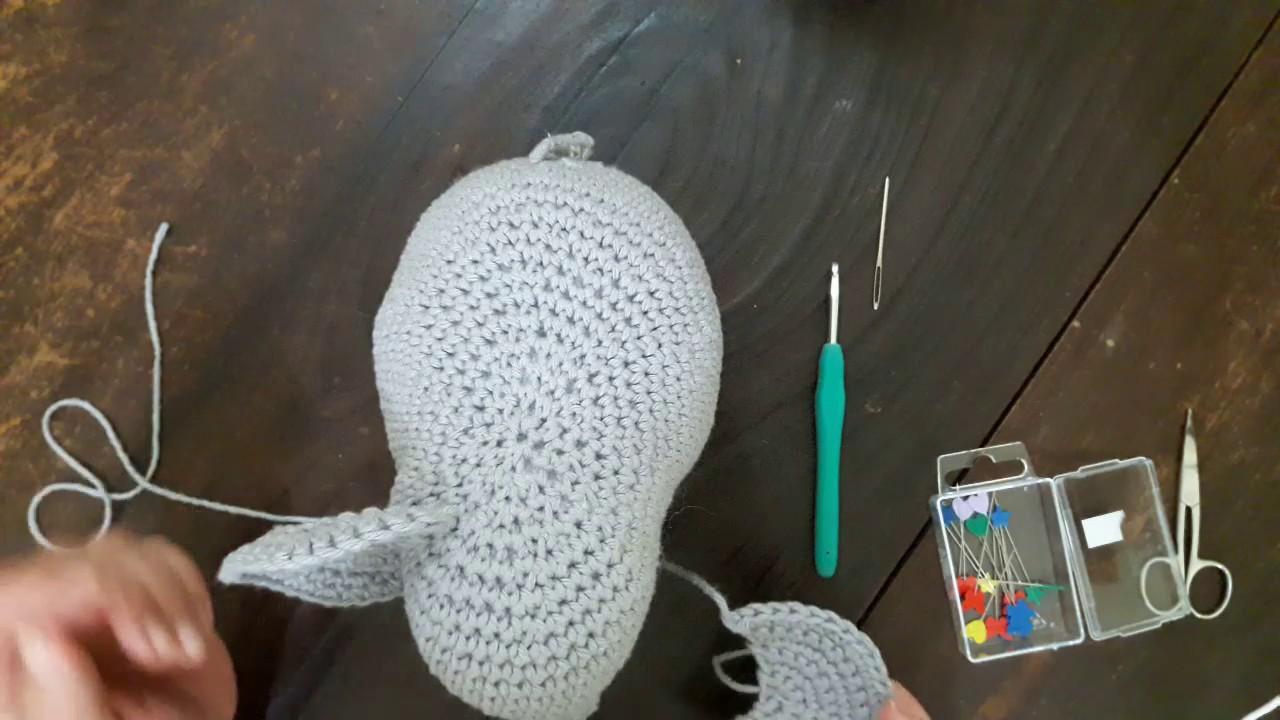 Como fazer elefante em crochê passo a passo amigurumi com receita ...   720x1280