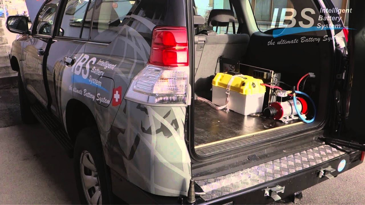 Ibs Dual Battery System 150 Series Land Cruiser 4wd Offroad Blue Sea Wiring Diagram Techedition 1