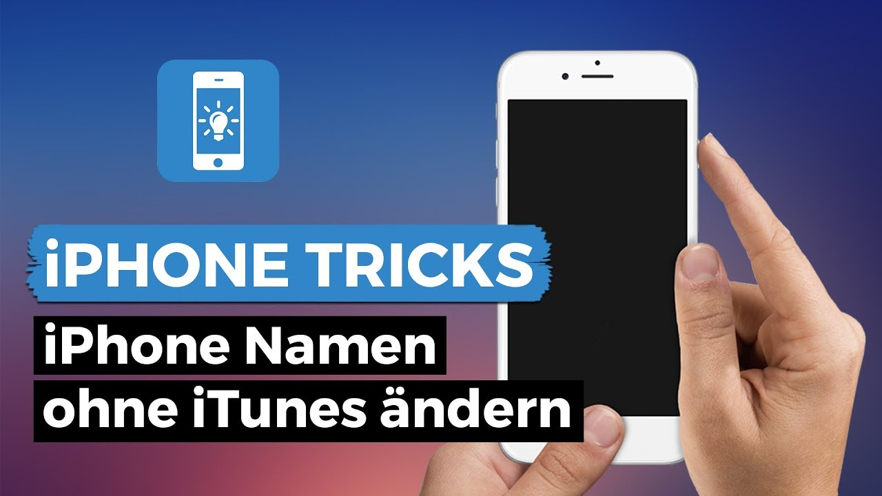iphone bluetooth name ändern
