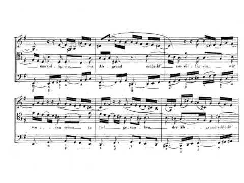 J. S. Bach: Cantata nº 9 BWV 9 Es ist das Heil uns kommen her