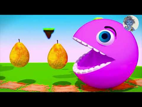 Pacman Having Fun Play ! Kid Video ! Gola Video