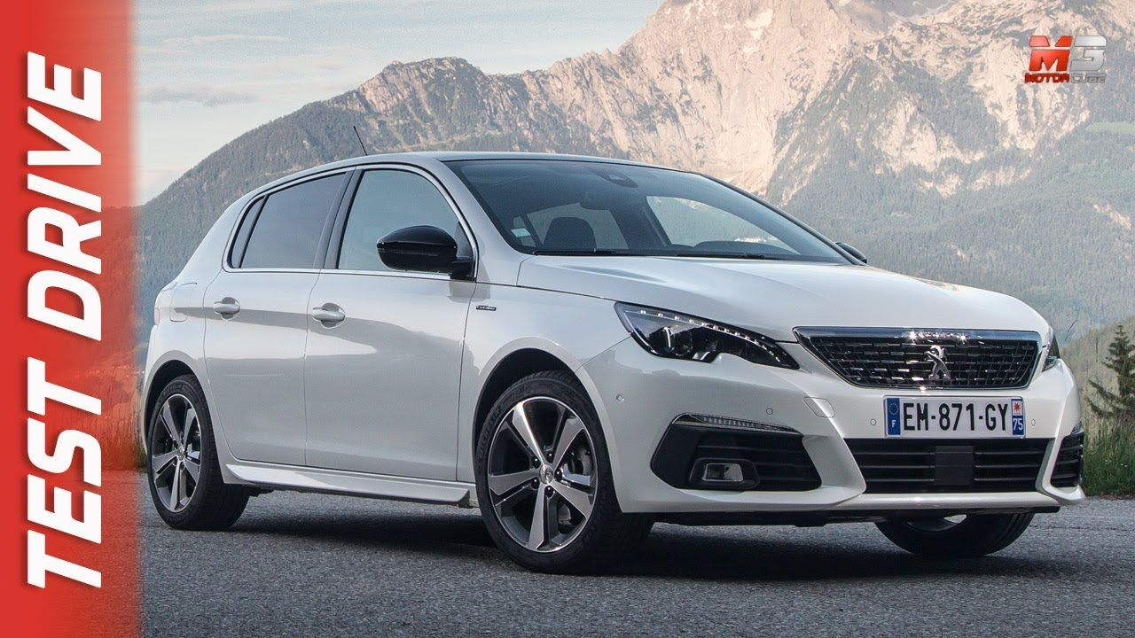 new peugeot 308 gt bluehdi 180 cv eat8 2018 first test drive youtube. Black Bedroom Furniture Sets. Home Design Ideas
