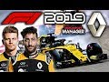 F1 2019 Renault Manager Career: CRAZY START TO THE RACE! - Part 2