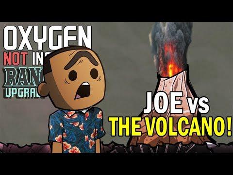 Joe vs The Volcano! - Oxygen Not Included Gameplay - Ranching Upgrade Mark II