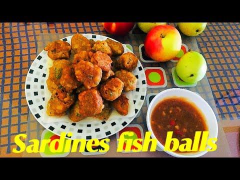 🐟 Sardines Fish Balls 🐠 How To Make Sardines Fishballs