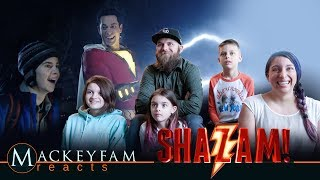 SHAZAM! - Official Trailer 2- REACTION and REVIEW!!!
