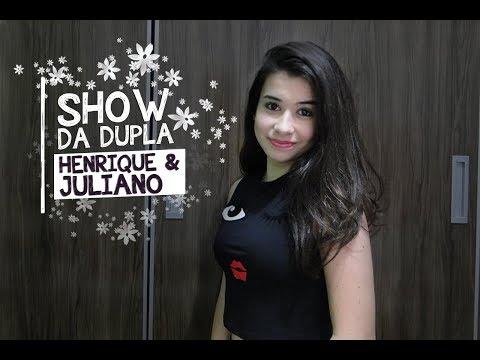 FUI NO SHOW DA DUPLA HENRIQUE & JULIANO | Marina Mader