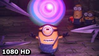 Миньон гипнотизирует охранников - Смешной момент | Миньоны (2015)