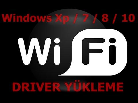Windows 7 - 8 - 10 Wifi Wriless Driver Yükleme Kurulumu Realtek 3263