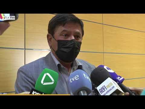 Declaraciones de Pedro Armas tras el cese de los consejeros del PSOE en Pájara 04/05/2021
