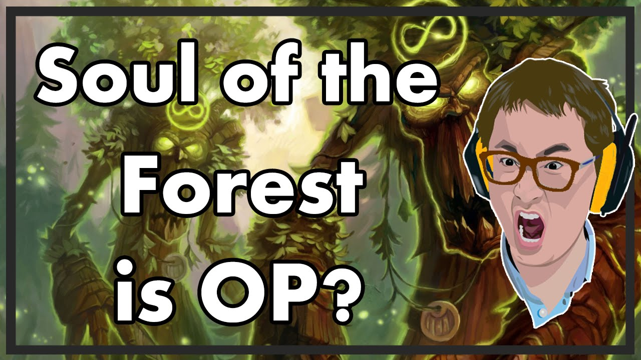 Can Soul Of The Forest Work On Ladder?