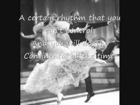 Fred Astaire y ginger Rogers .The continental.wmv