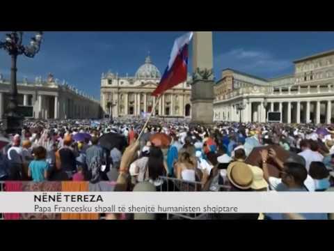 Speciale e Ora News - Lumturimi dhe viti i Nënë Terezës