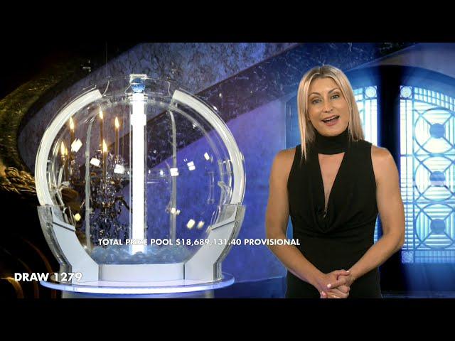 Powerball Results Draw 1279 | Thursday, 19 November 2020 | The Lott