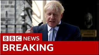 Boris Johnson makes first speech as new PM - BBC News