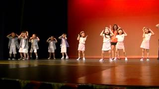 Kindergarten graduation performance by room 6 the Discovery World Montessori in Diamond Bar