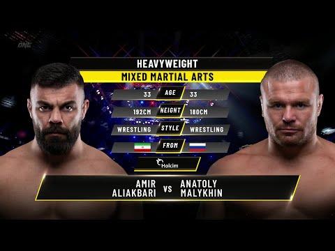 Amir Aliakbari vs. Anatoly Malykhin   ONE Championship Full Fight