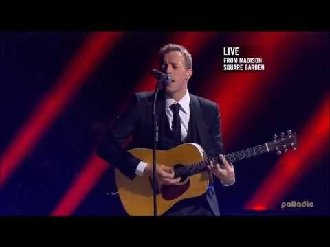 Viva La Vida - Coldplay (Chris Martin + Guitar) Acoustic Live HD