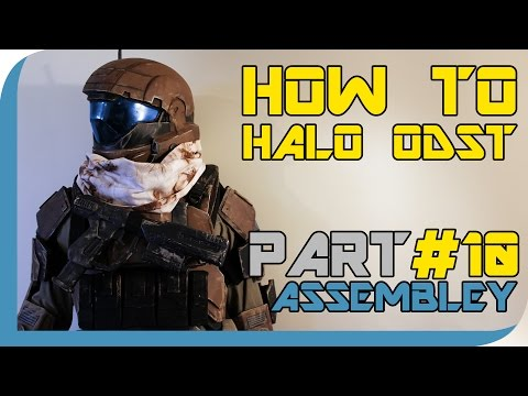 HOW TO: Halo Reach ODST Costume  ( PART 10 : Suit Assembley)