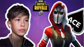 THE ACE New Starter pack Gameplay Fortnite battle royale
