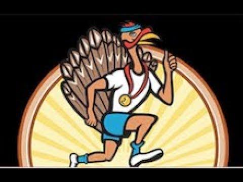 50th Turkey Trot at Dowagiac Middle School - Ron Gunn  Head Turkey - The 5K