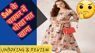 LIBAS का 1,499 rs का kurta 750rs मे 🤔 Review new collection 2018 ft.myntra big fashion day sale2018