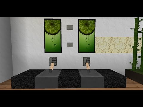 minecraft inneneinrichtung modernes haus doovi. Black Bedroom Furniture Sets. Home Design Ideas