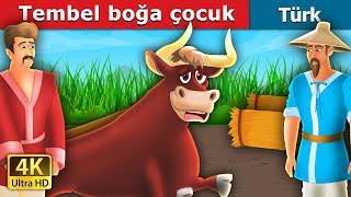 Tembel boğa çocuk  The Lazy Bull Boy Story   Türkçe peri masallar