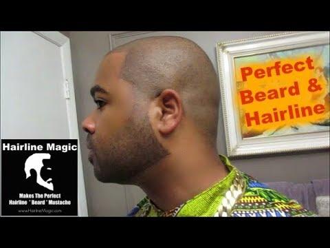 Perfect Hairline & Beard Tutorial ( Hairline Magic)