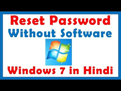recover forgotten windows 7 password