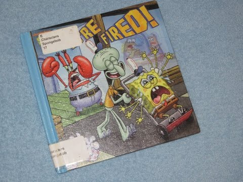 Spongebob Squarepants - You're Fired! Children's Read Aloud Story Book For Kids