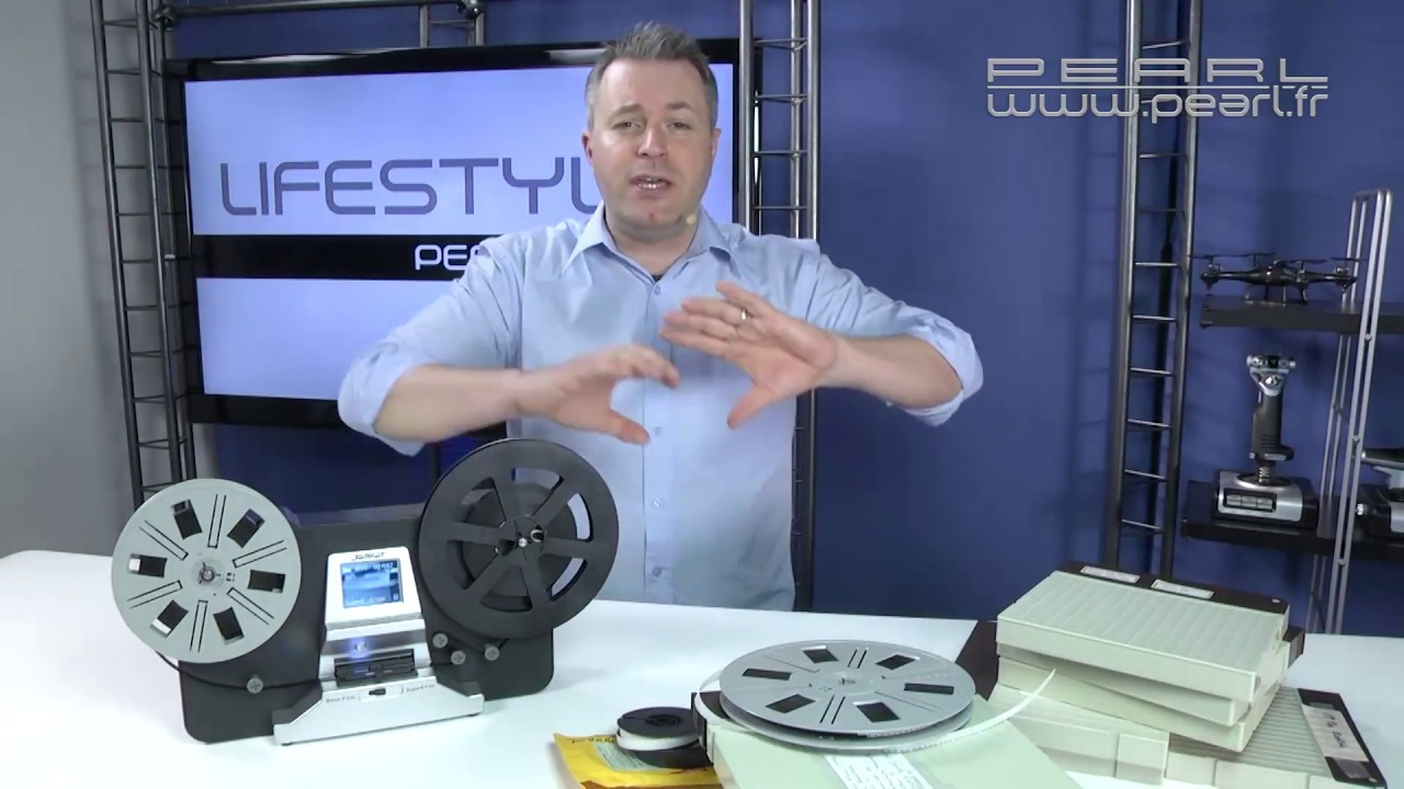 scanner de pellicule pour films 8mm et super8. Black Bedroom Furniture Sets. Home Design Ideas