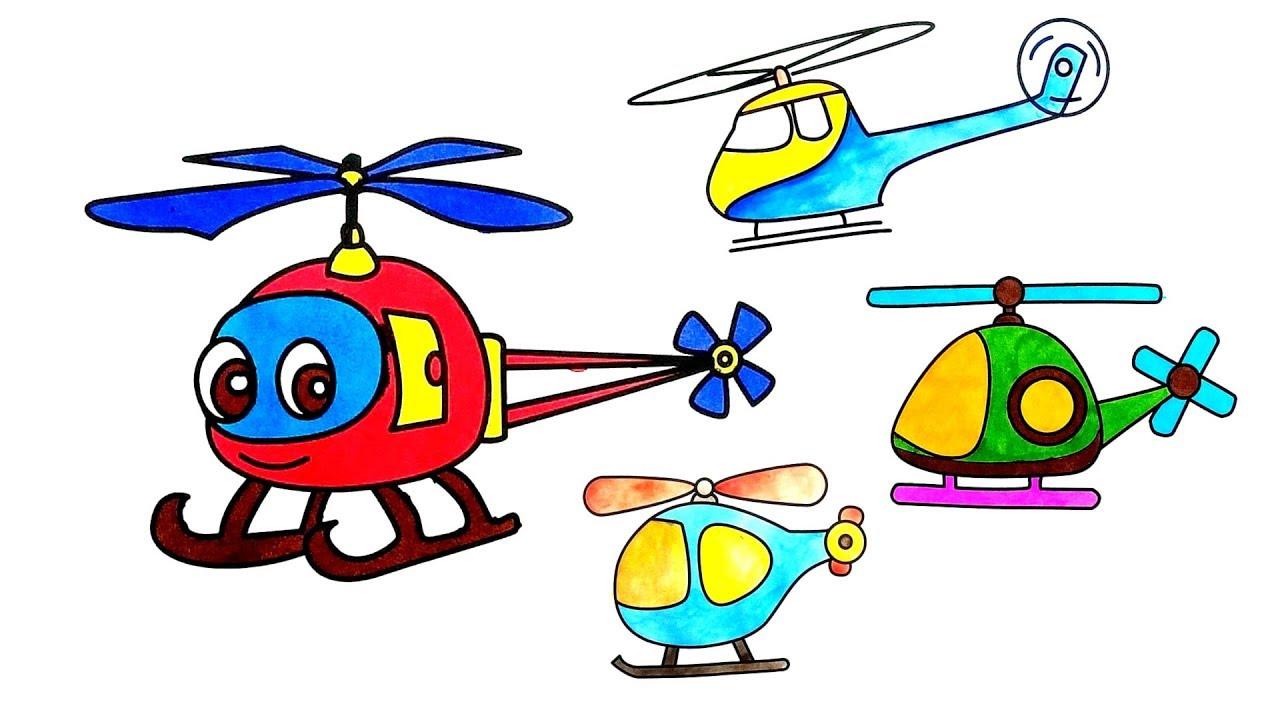 Картинки детских вертолетов