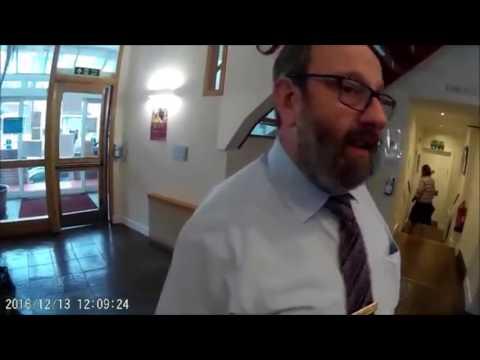 J4MB Confront  Dr Joseph Spitzer, Male Genital Mutilator, Stamford Hill