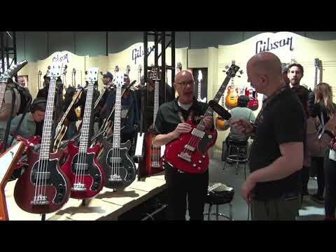 NAMM Show 2019   Gibson 10  Tribute Basses
