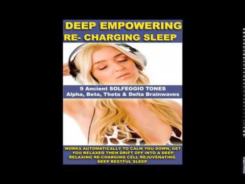 REMOVE NEGATIVE BLOCKS DEEP SLEEP RELAXATION GUIDED MEDITATION SOLFEGGIO TONES THETA PAUL SANTISI