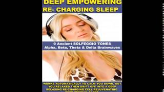 REMOVE NEGATIVE BLOCKS DEEP SLEEP RELAXATION GUIDED MEDITATION SOLFEGGIO TONES THETA PAUL SANTISI