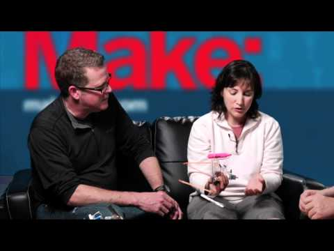 Dale Dougherty interviews Christopher Myers and Anne Mayoral about SpinBots!