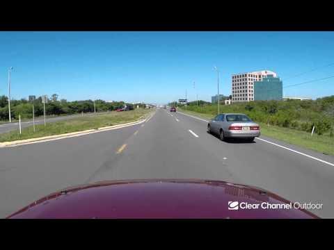 Billboard Video Ride: Digital Bulletin #312: Ulmerton Rd and Feather Sound Dr