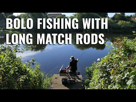 Bolo Fishing With Long Match Rods - On The River Trent