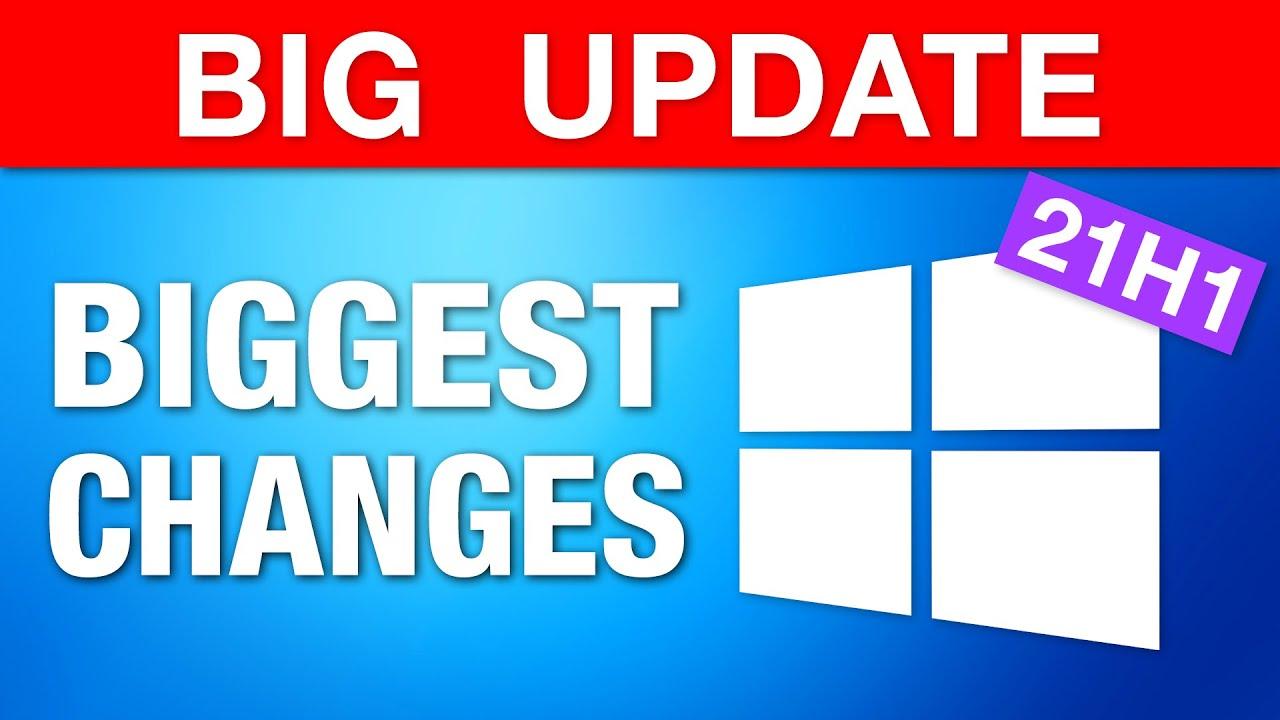 "Download Windows 10 Major ""May Update"" - Biggest Changes! (21H1)"