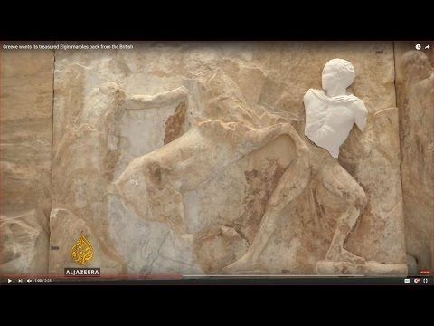 Greece wants its treasured Elgin marbles back from the Briti